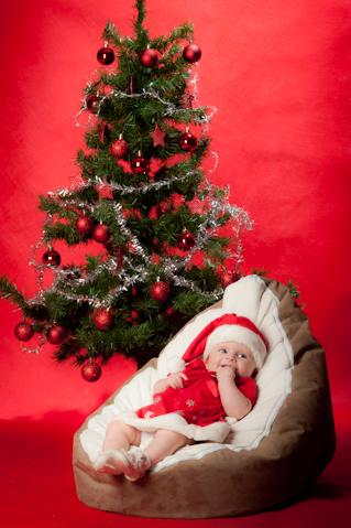 Christmas-Baby-photography