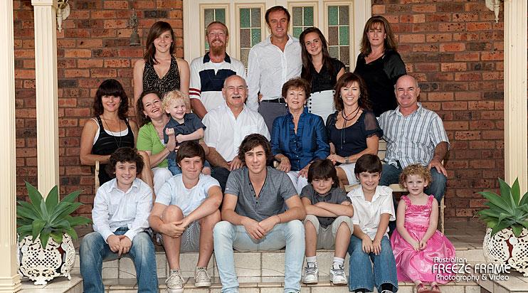 Family Portrait Kellyville